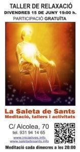 cartell taller relaxació15 juny